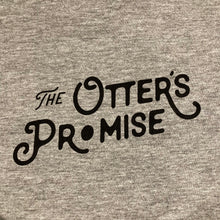 Load image into Gallery viewer, Otter's Promise T-Shirt (Pocket & Back Print) Marle