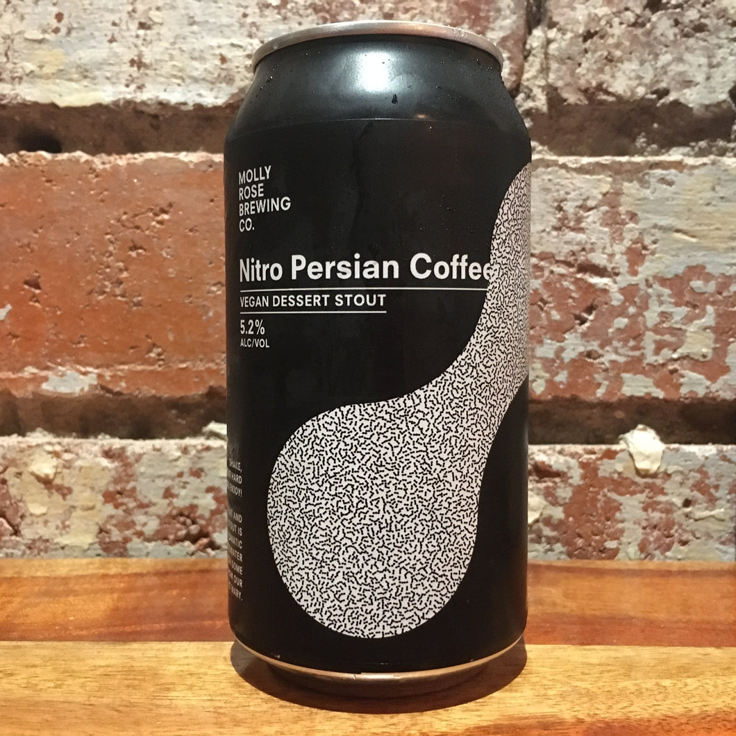 Molly Rose Nitro Persian Coffee Vegan Dessert Stout