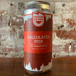 Deeds Calculated Risk Dry Hopped Saison (Limit 1pp)