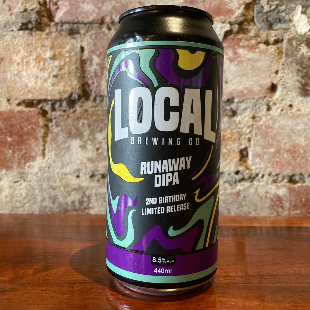 Local Brewing Runaway DIPA
