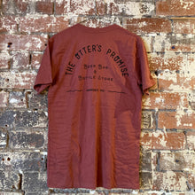 Load image into Gallery viewer, Otter's Promise T-Shirt (Pocket & Back Print) Brick