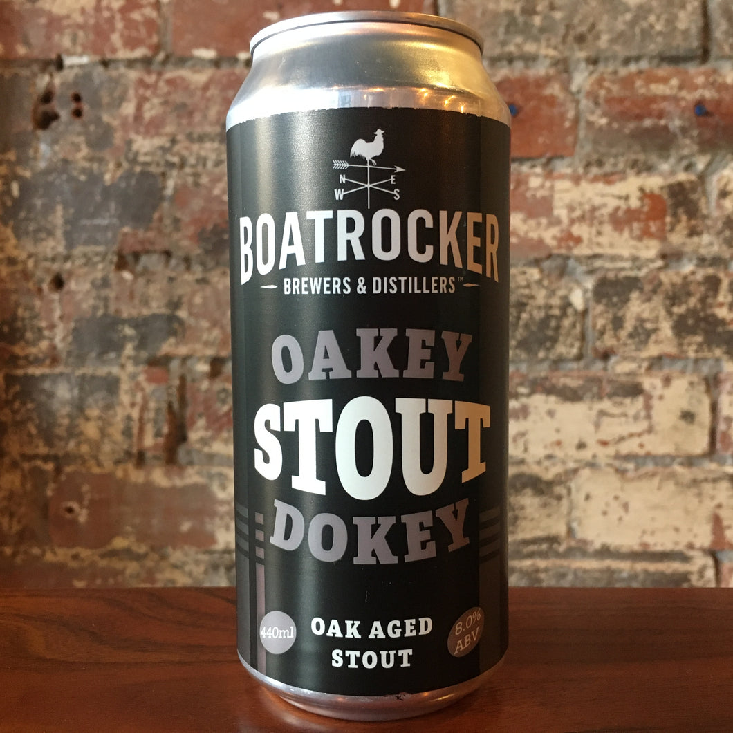 Boatrocker Oakey Dokey Stout