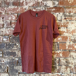 Otter's Promise T-Shirt (Pocket & Back Print) Brick