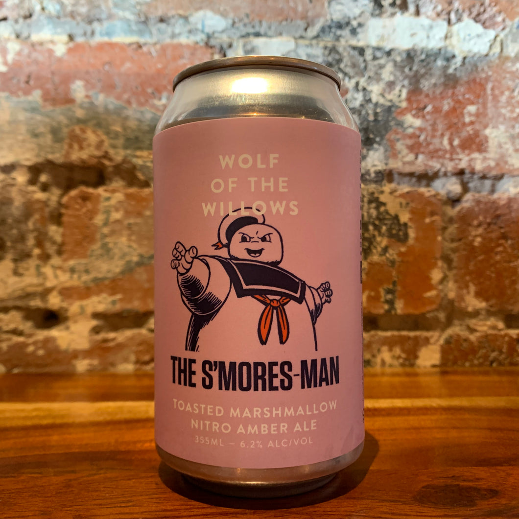 Wolf of the Willows The S'mores Man Toasted Marshmallow Nitro Amber Ale