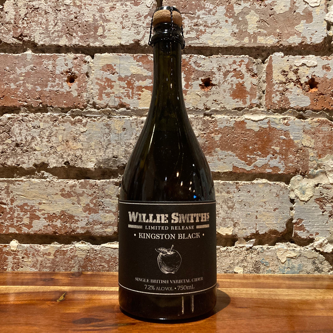 Willie Smiths Kingston Black Single British Varietal Cider