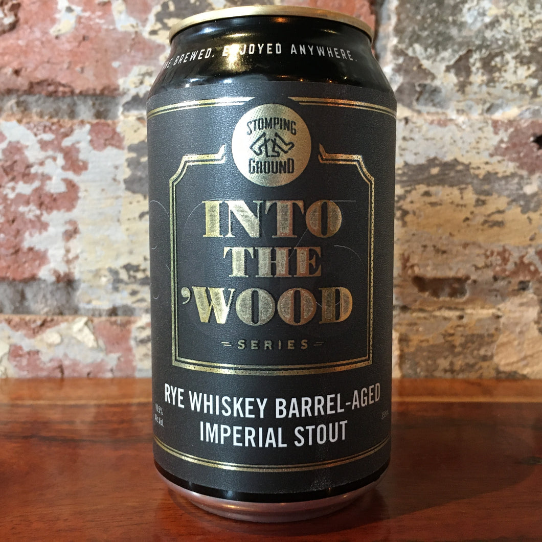 Stomping Ground Into The 'Wood Rye Whiskey BA Imperial Stout