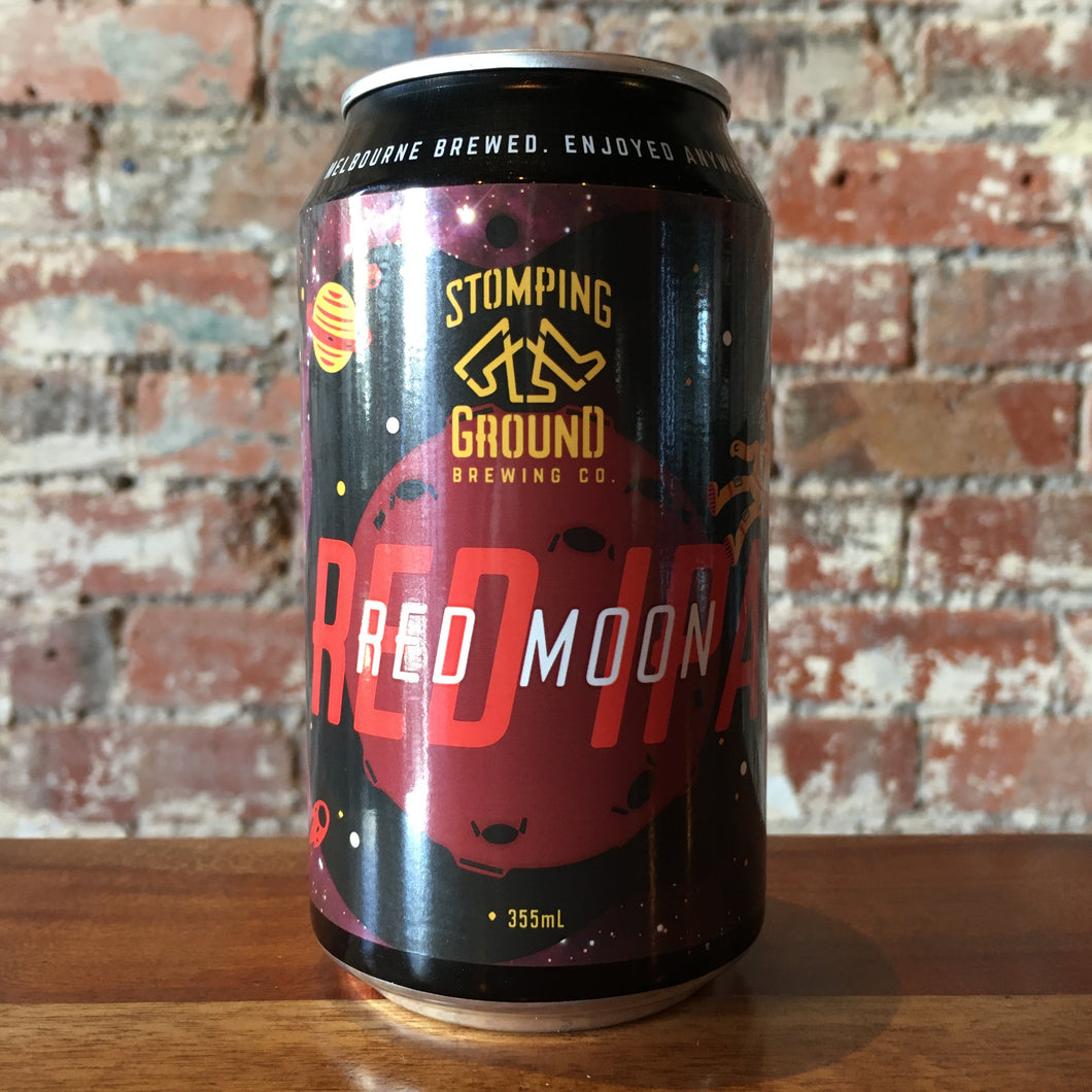 Stomping Ground Red Moon Red IPA