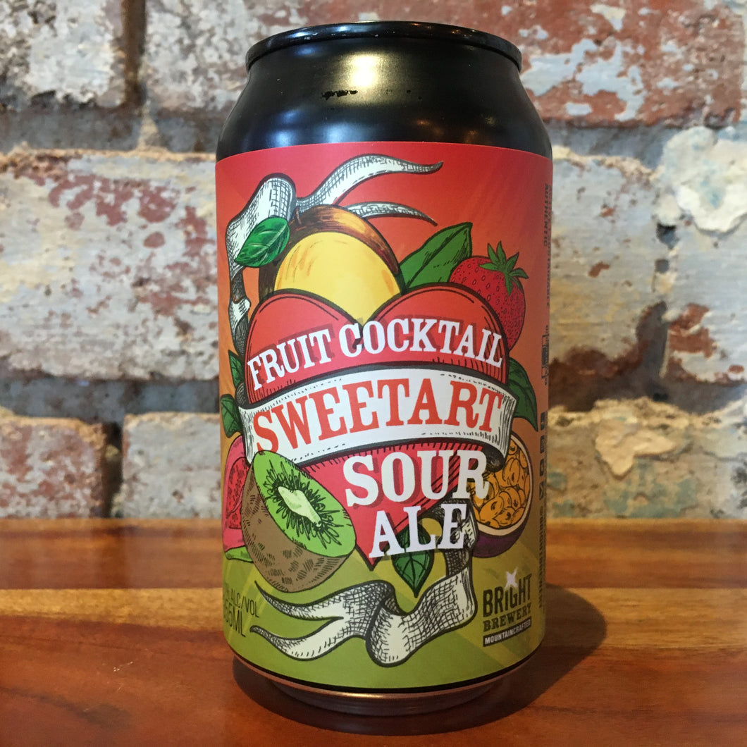 Bright Sweetart Fruit Cocktail Sour Ale