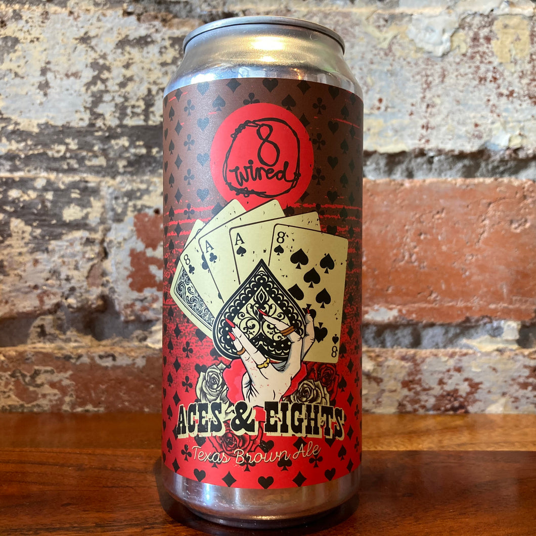 8 Wired Aces & Eights Texas Brown Ale