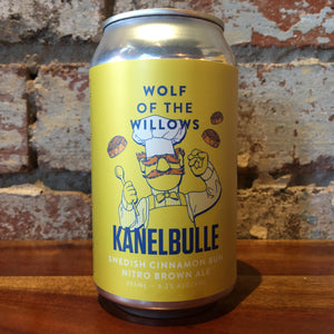Wolf of the Willows Kanelbulle Swedish Cinnamon Bun Nitro Brown Ale