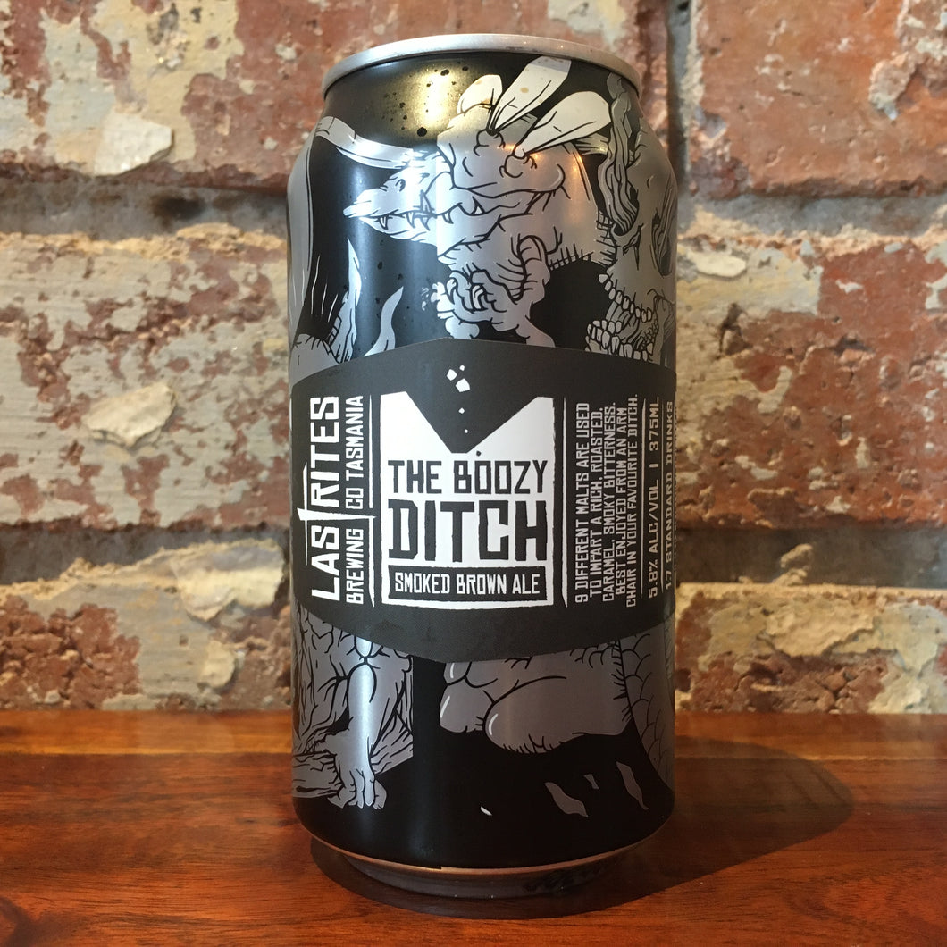 Last Rites The Boozy Ditch Smoked Brown Ale