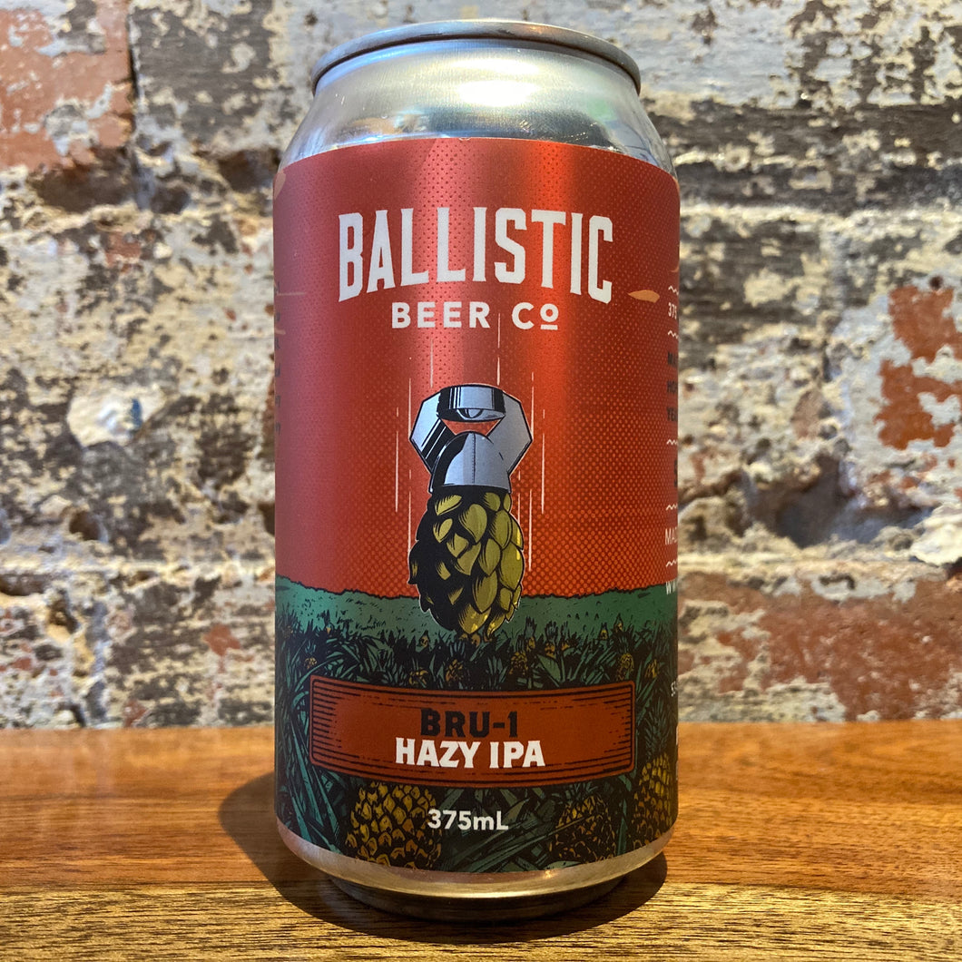 Ballistic BRU-1 Single Hop Hazy IPA