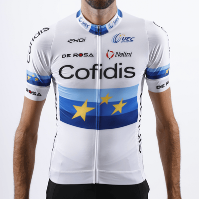 Maillot MC Champion d'Europe 2020 - Team-Cofidis