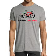 "T-shirt ""Planter une mine"""