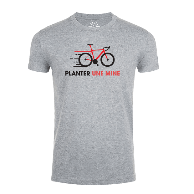 "T-shirt ""Planter une mine"" - Team-Cofidis"