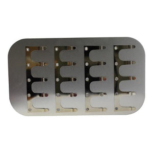 "6"" Clip Plate Fly Box Insert (Large 5 Clips)"