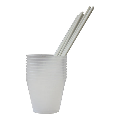 Flex Coat Mixing Cups and Sticks