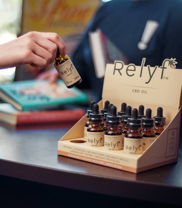 Relyf Pet Care 250mg CBD Oil Tincture Natural THC Free