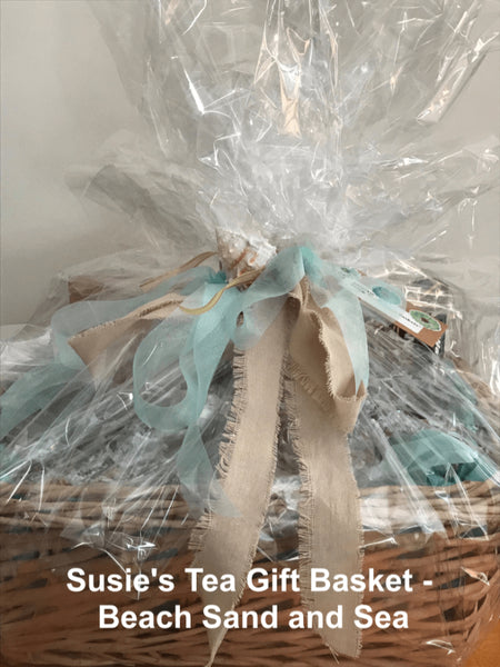 Tea Gift Basket by Susie - Beach Sand and Sea