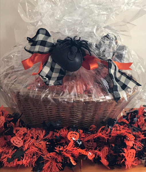 Susie's Tea Gift Basket - Haunted Halloween