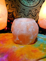 Himalayan Rock Salt tea light holder
