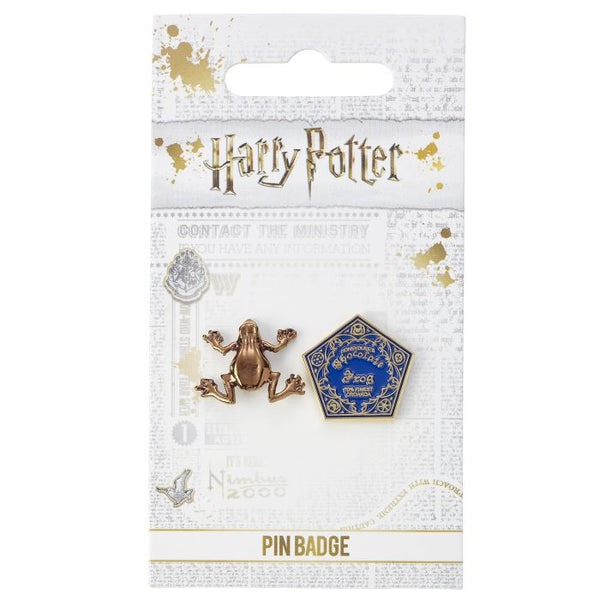 HP Chocolate Frog Pin Badge