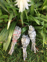 Small White Sage Smudge Sticks with Stem