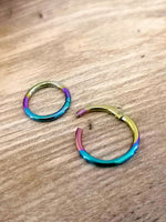 Anodised Titanium 1.2mm Segment Ring (Clicker)