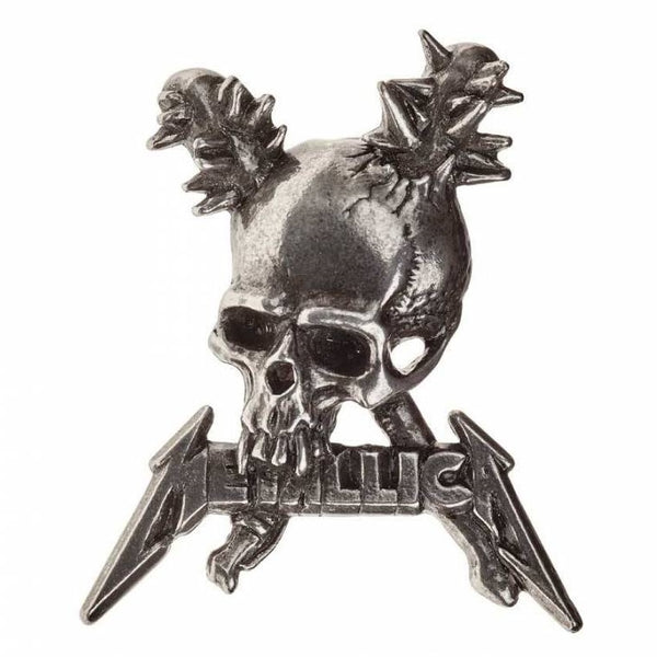 Metallica Damage Inc Skull Pin Badge