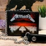 Metallica Wallet and Chain
