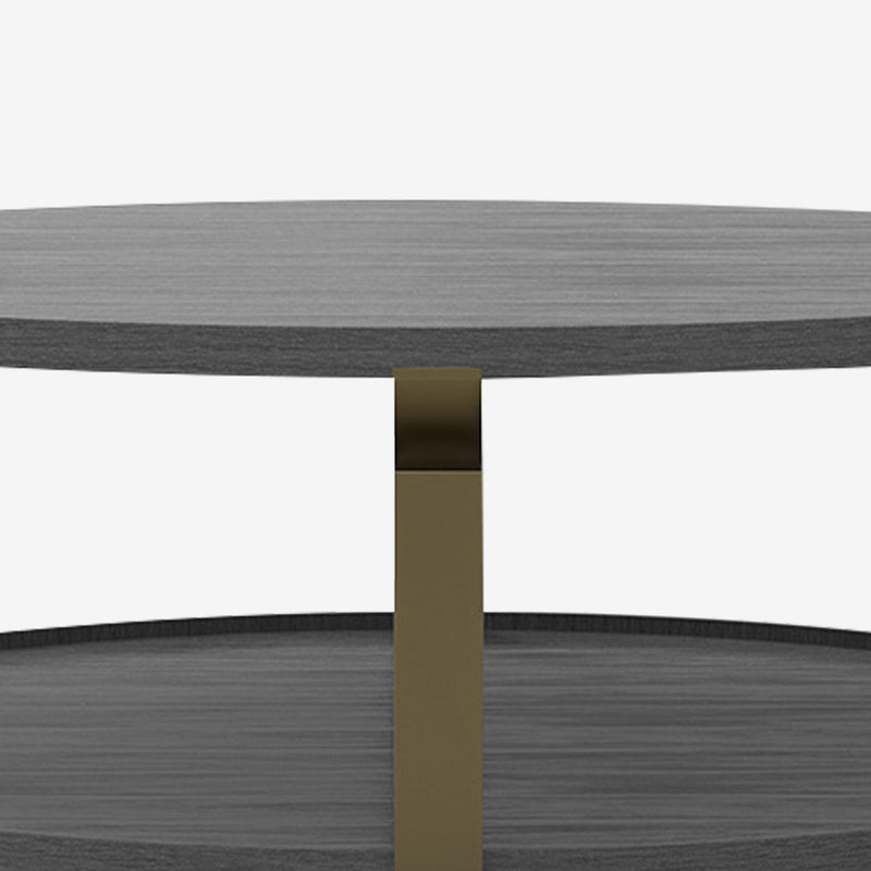 Dakota Coffee Table, Ebony Timber