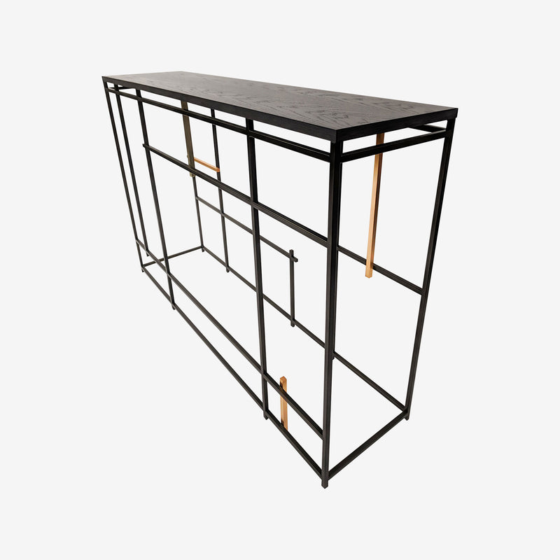 Luxury Furniture, Contemporary Interiors, Console Table, Loom, Metal