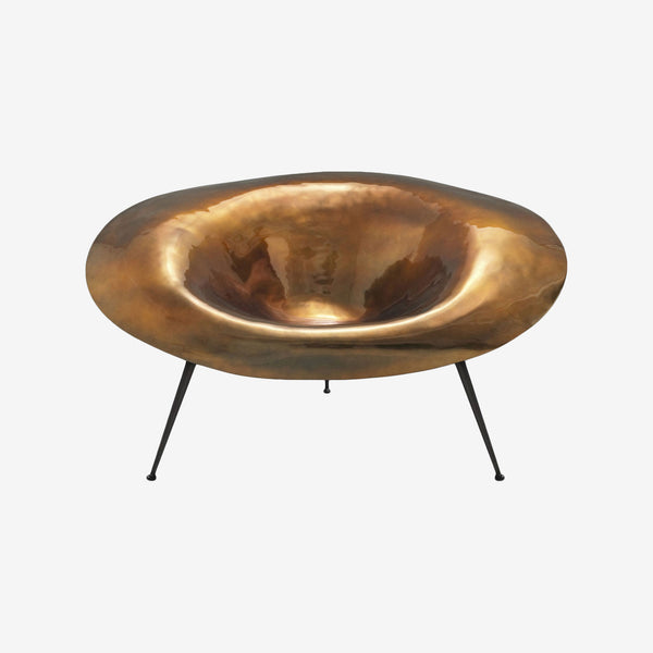 Varnished Copper Fiberglass, Stool, Inperfetto Lab, Colourful Design, Bold Design, Contemporary Living