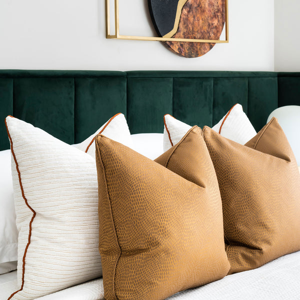 Bazaar, Green Velvet Bed, Luxury Furniture, Contemporary Interiors, Bedroom, Headboard