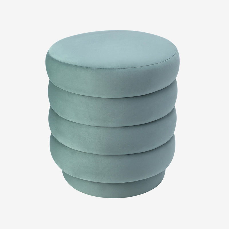 Liang & Eimil, Stool, Velvet, Contemporary Furniture, Luxury Decor