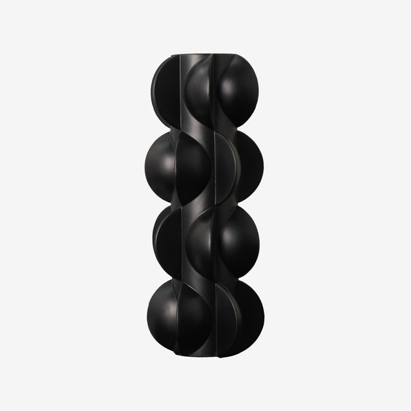 Vase, Home Accessories, Sculpture, Black, Liang & Eimil