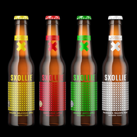 SXOLLIE Mixed case - 24 Bottles 330ml (Just pick 3!)