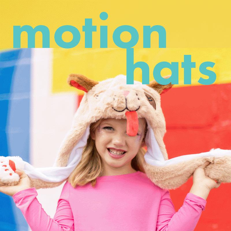 Squeeze Motion Hats