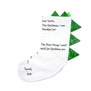 Color-your-own Dinosaur Stocking With 6 Washable Markers