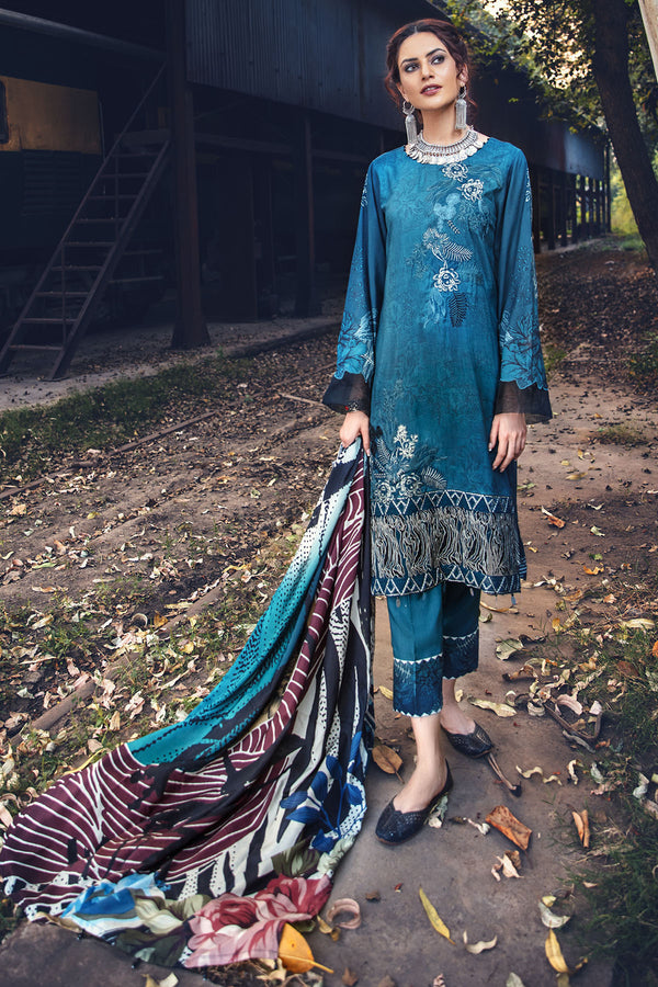 2567-AEGEAN DIGITAL PRINTED LINEN UNSTITCHED