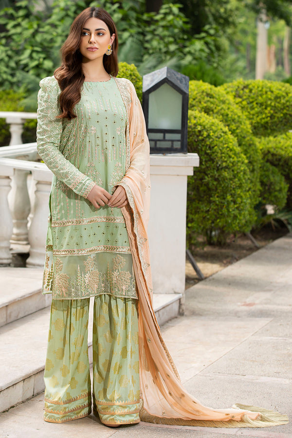 2586-GREEN-MIST EMBROIDERED LAWN UNSTITCHED