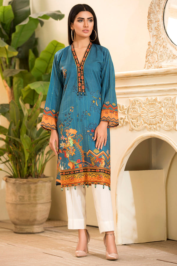 2540-ASTRAL DIGITAL PRINTED LAWN STITCHED