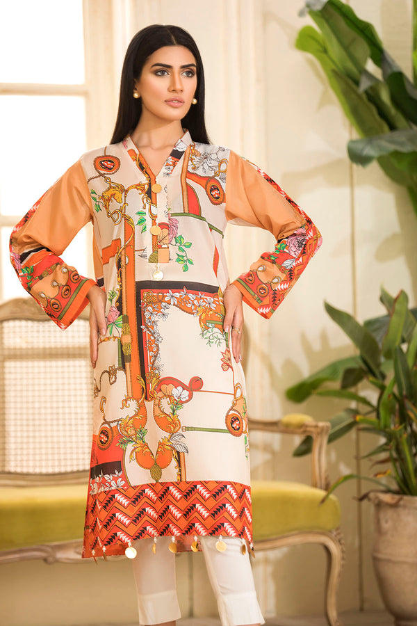2538-SPRING-WOOD DIGITAL PRINTED LAWN STITCHED