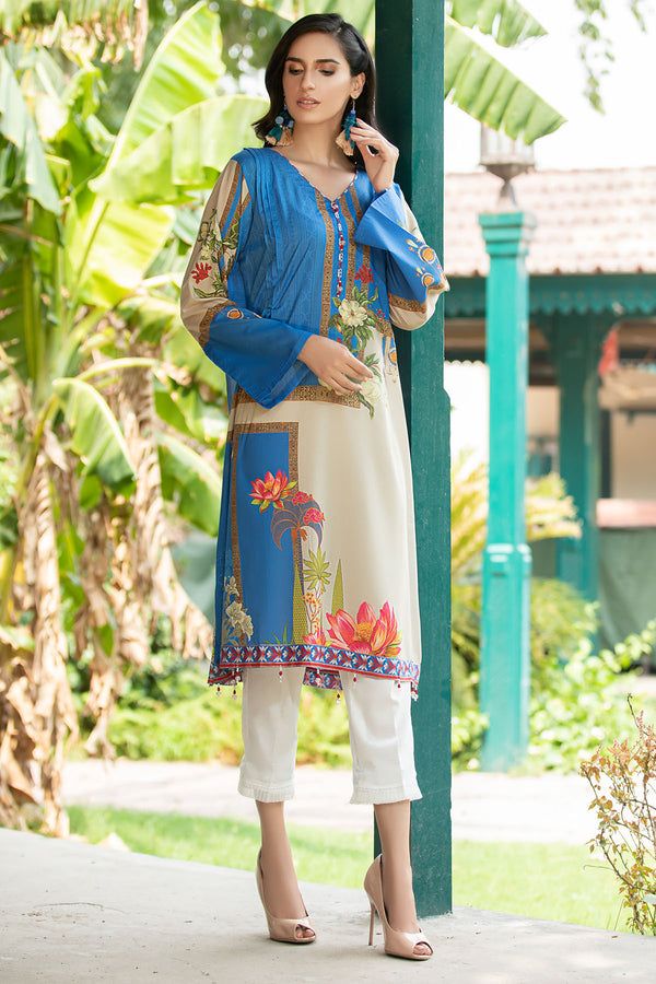 2534-PERANO DIGITAL PRINTED LAWN STITCHED