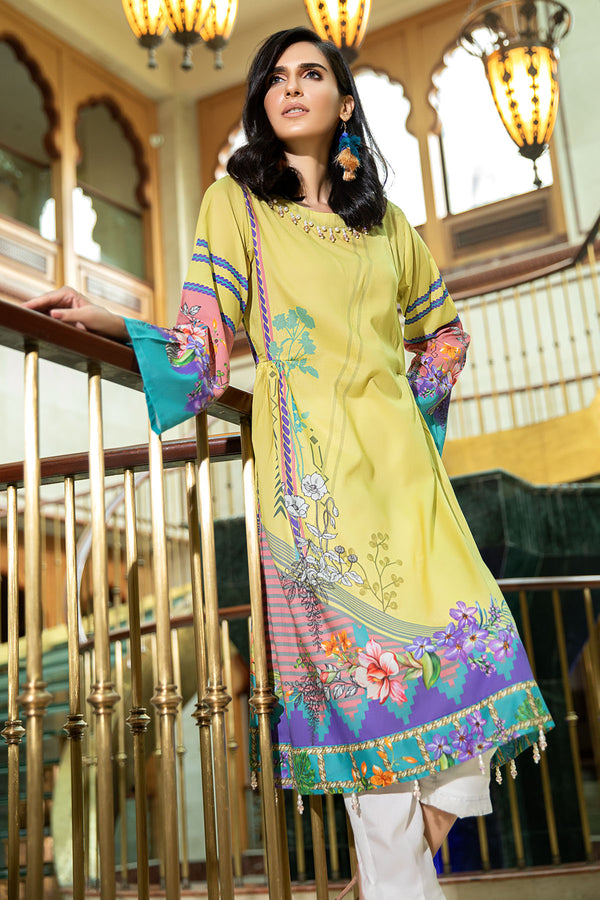 2535-WILD-RICE DIGITAL PRINTED LAWN STITCHED