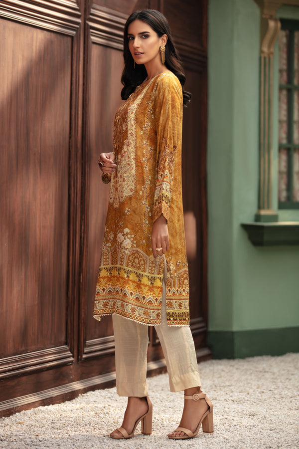 2693-PERSIAN-MELODY DIGITAL PRINTED SILK STITCHED