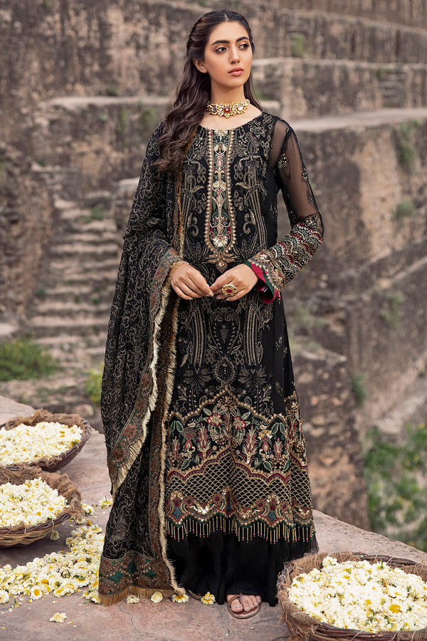 2771-ARABIAN-CHARM EMBROIDERED CRINKLE CHIFFON UNSTITCHED
