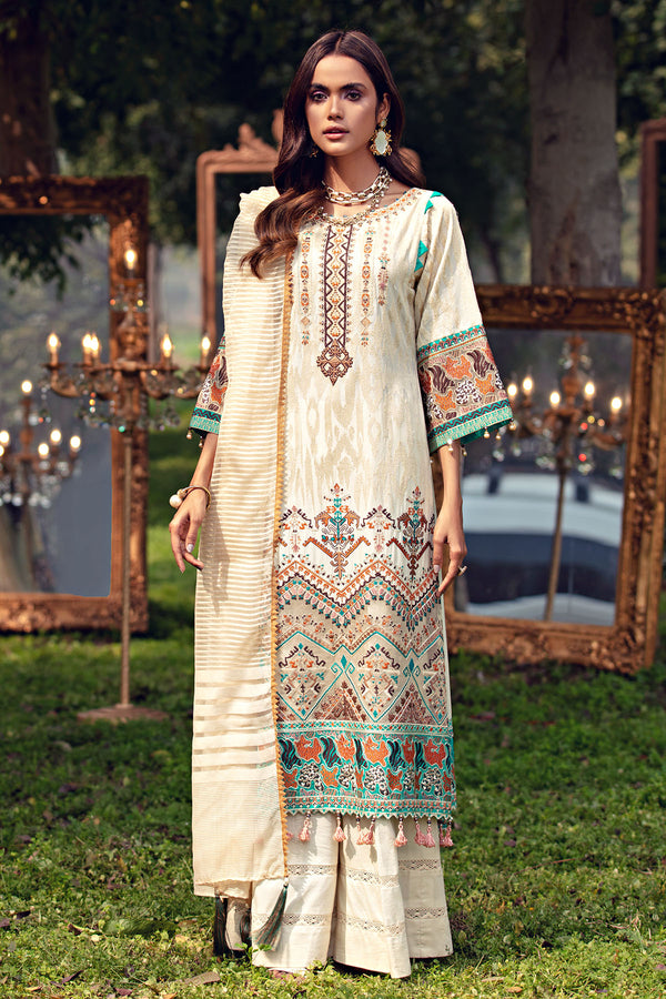 2799-DITSY EMBROIDERED LAWN UNSTITCHED