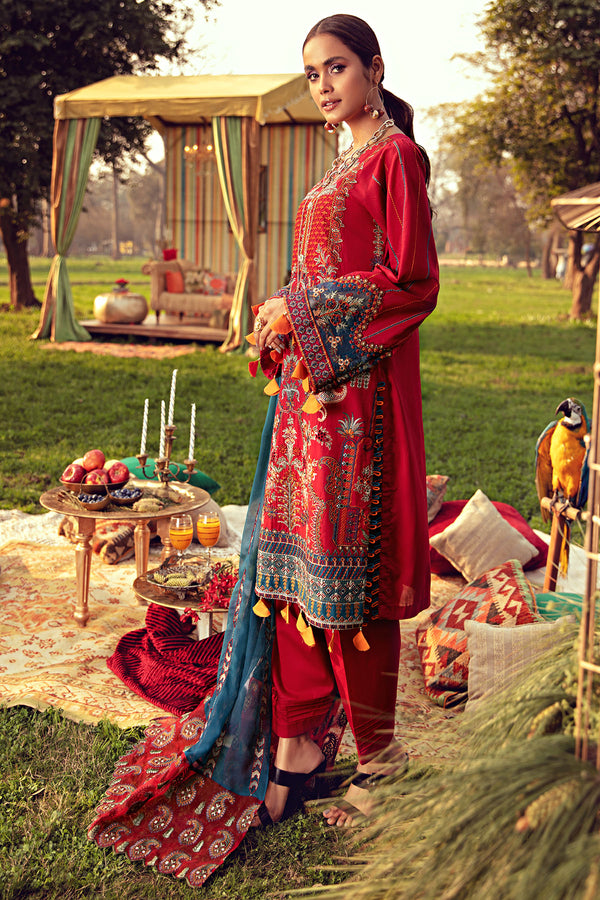 2800-RUBY EMBROIDERED LAWN UNSTITCHED