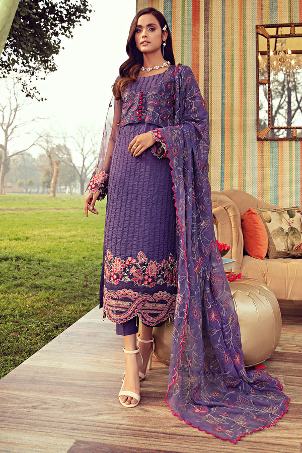 2810-HAZE EMBROIDERED LAWN UNSTITCHED